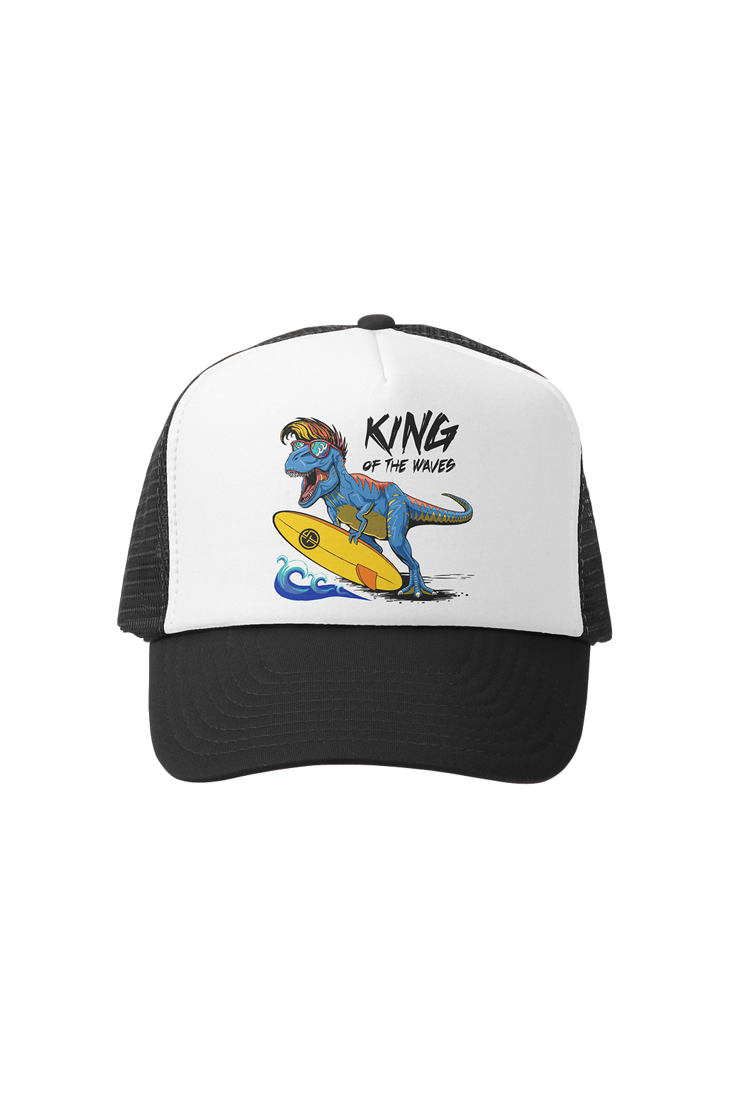 Grom Squad King Of The Waves Trucker Hat - Main Image