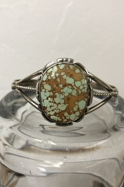 JR Marketing Kingman Turquoise Cuff-Bracelet - Product Mini Image