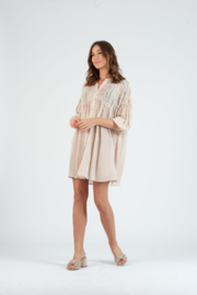 lucca couture Kingsley Lace Detailed Dress - Product Mini Image