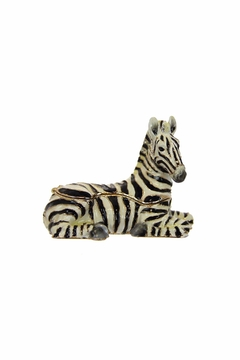 Kingspoint Designs Zoe The Zebra Box - Product List Image