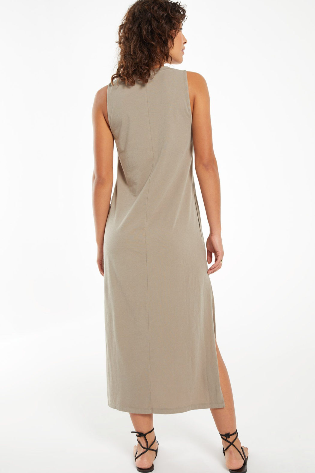 z supply Kinley Midi Dress - Side Cropped Image