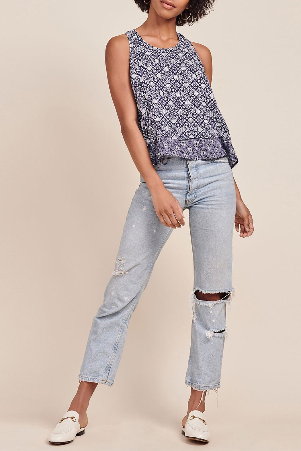 Jack by BB Dakota Kinley Printed Top - Front Cropped Image