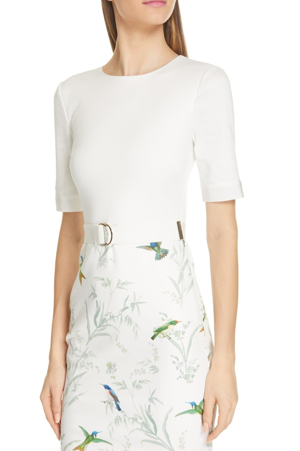 Ted Baker London Kinnya Body-Con Dress - Side Cropped Image