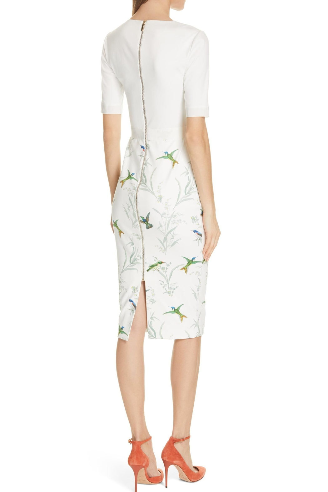 Ted Baker London Kinnya Body-Con Dress - Front Full Image