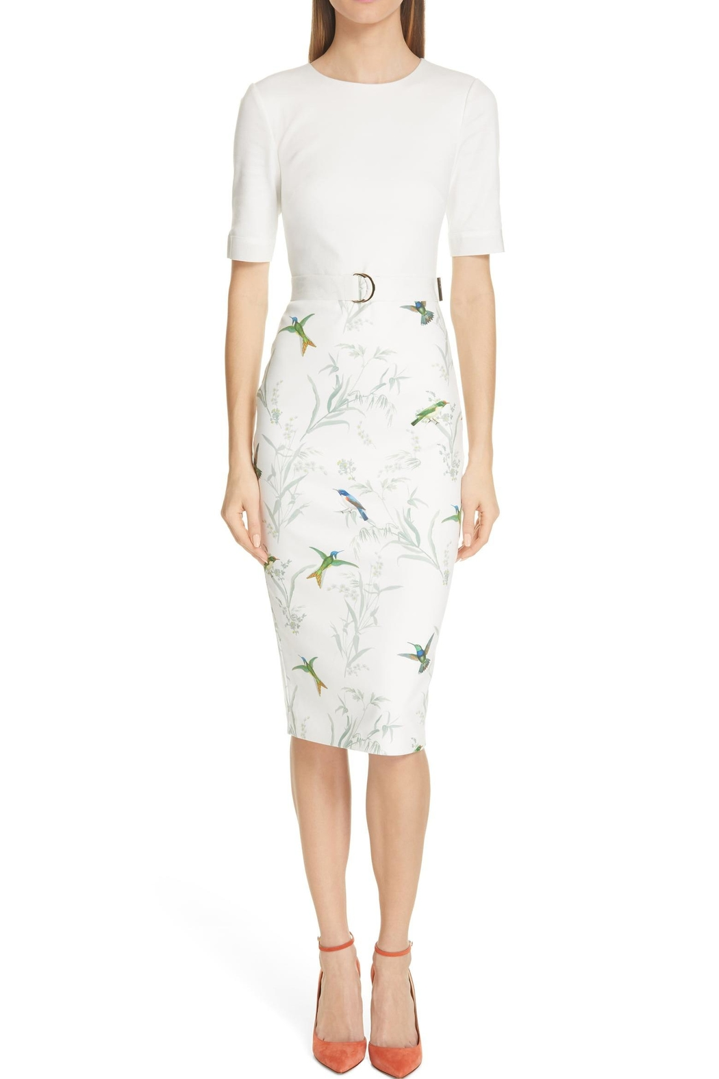 Ted Baker London Kinnya Body-Con Dress - Main Image