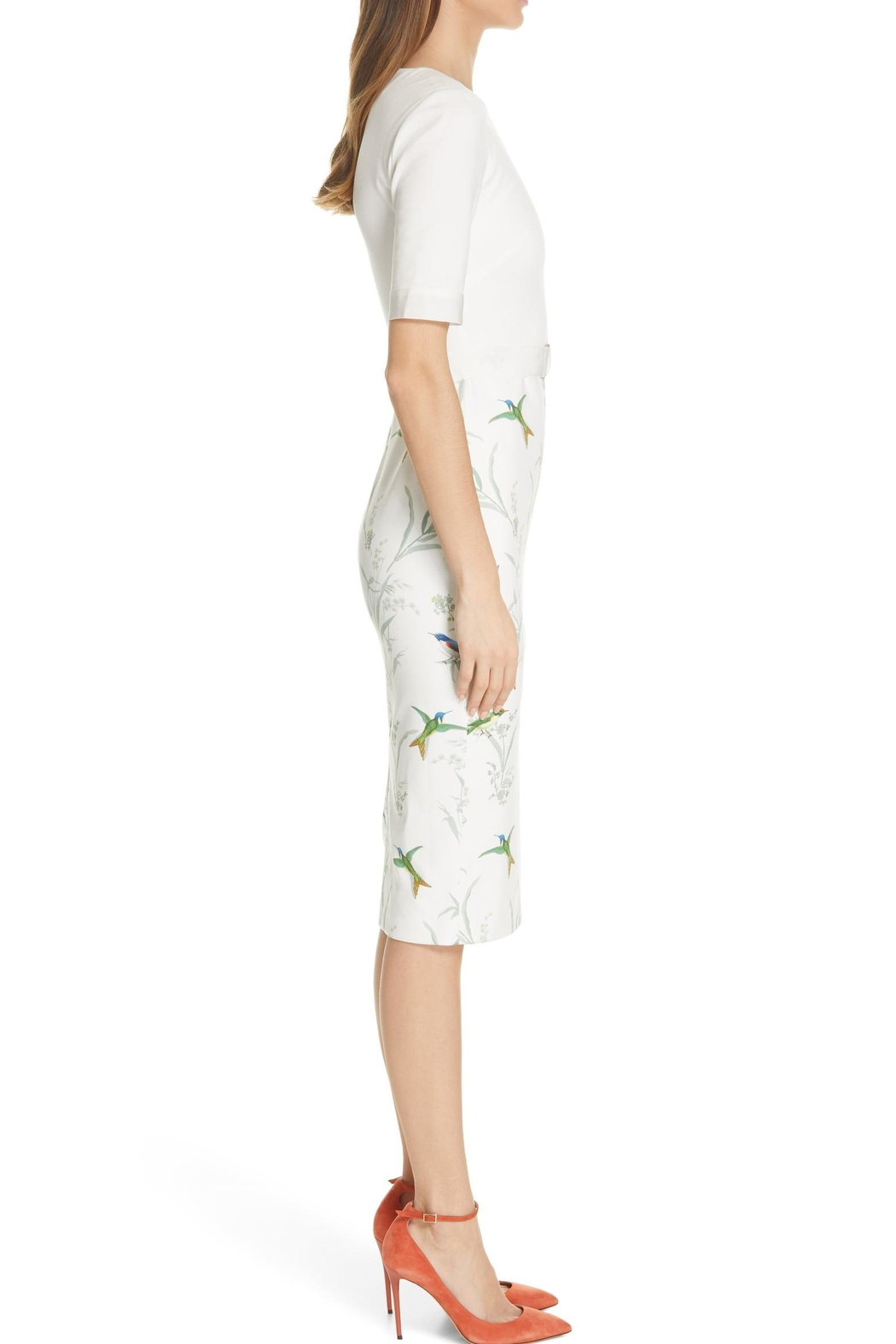 Ted Baker London Kinnya Body-Con Dress - Back Cropped Image