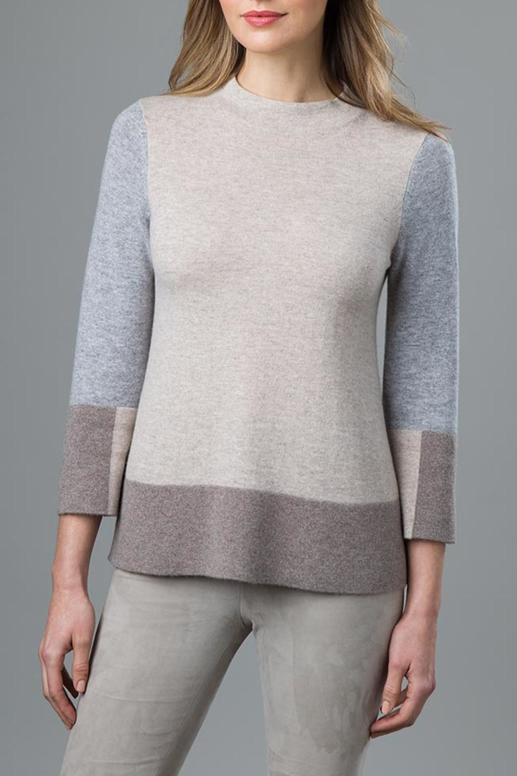 f0f281c9609 Kinross Cashmere Cashmere Colorblock Sweater from Seattle by Jack ...