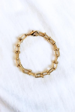 Shoptiques Product: Burke U-Ball Bracelet