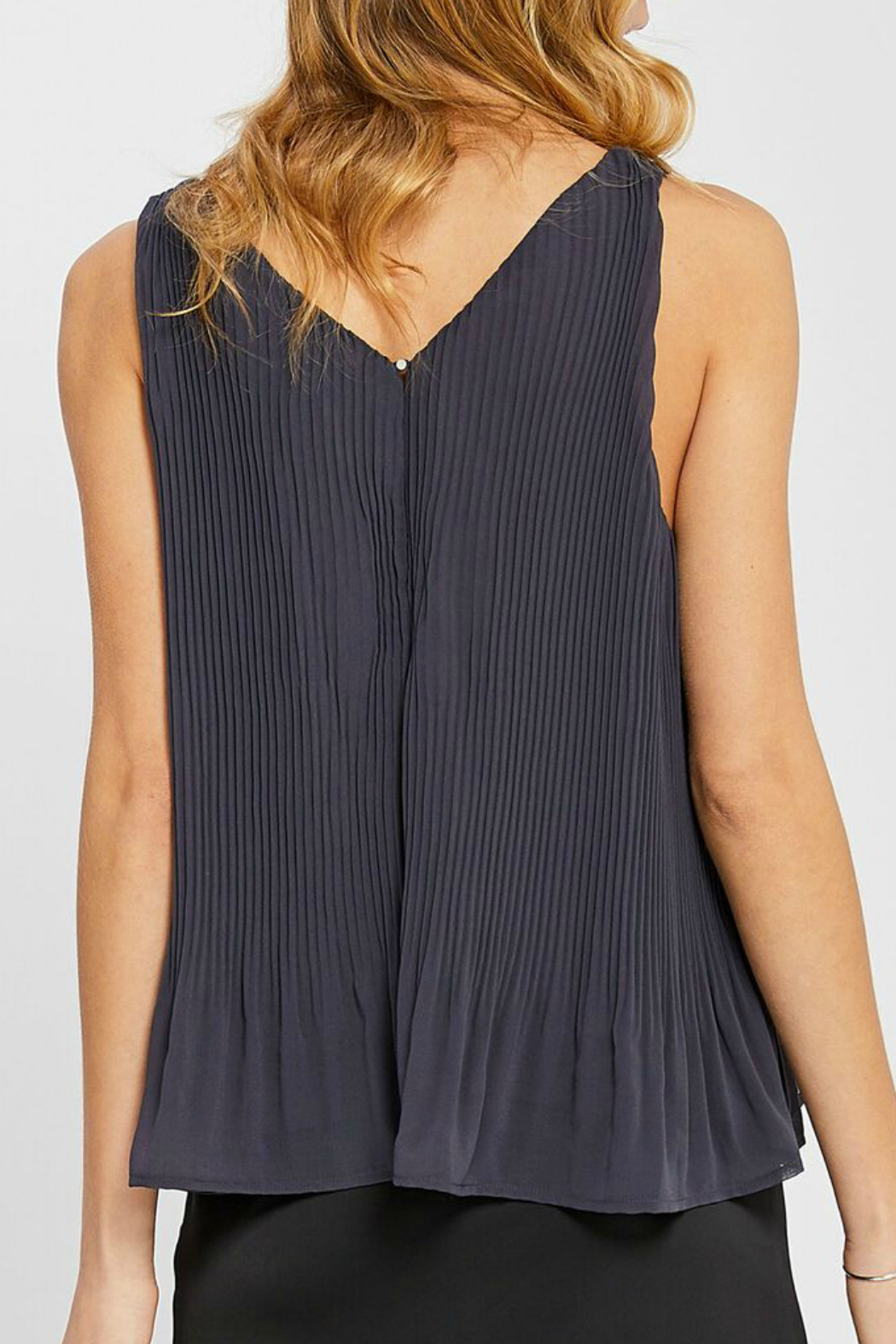 Gentle Fawn Kinsley Pleated Tank - Side Cropped Image