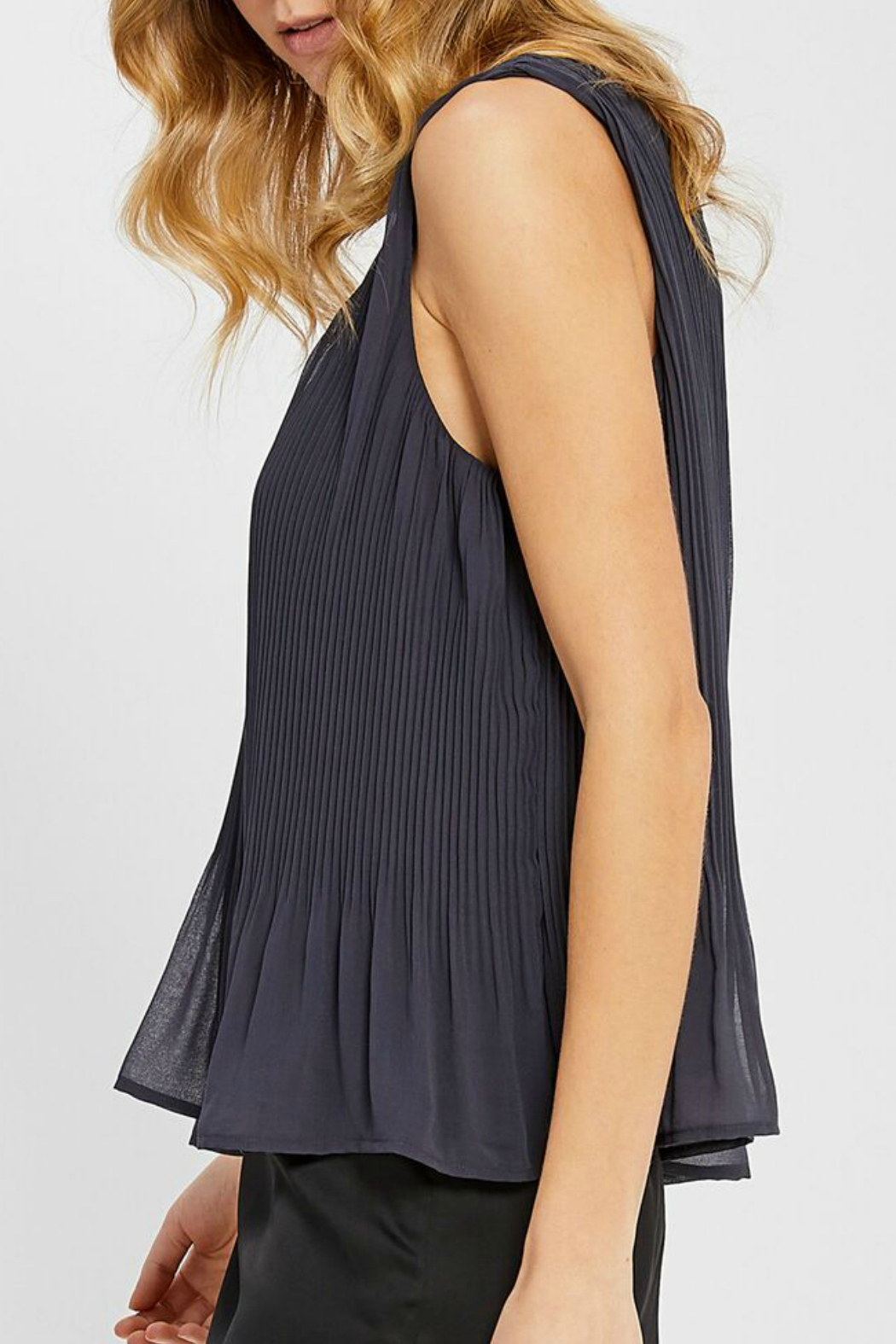 Gentle Fawn Kinsley Pleated Tank - Front Full Image
