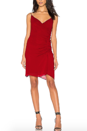 Rebecca Minkoff Kinsley Surplice Mini Dress - Product Mini Image