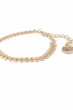 Kinsley Armelle Goddess Lance Bracelet - Alternate List Image