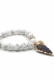 Kinsley Armelle Jasper Pepper Bracelet - Product Mini Image