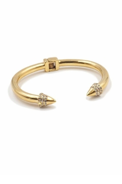 Kinsley Armelle Spike Gold Bracelet - Alternate List Image
