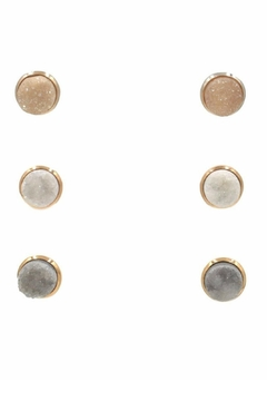 Kinsley Armelle Stone Quartz Earrings - Alternate List Image