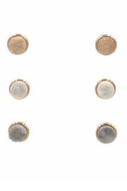 Kinsley Armelle Stone Quartz Earrings - Product Mini Image