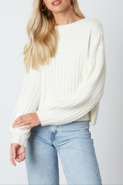 Cotton Candy Kint Sweater - Front cropped