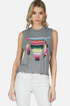 Lauren Moshi Kinzington Muscle Tank - Product List Image