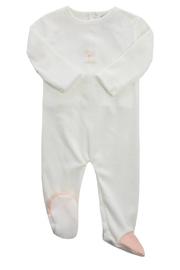 KIPP Baby Bunny Print Romper - Front cropped
