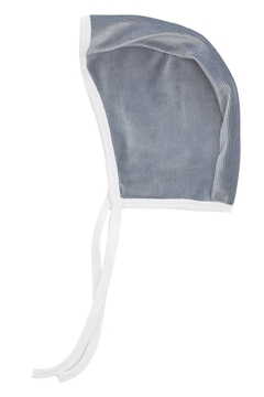 Shoptiques Product: KIPP Baby Rib Velour Contrast Color Block Bonnet