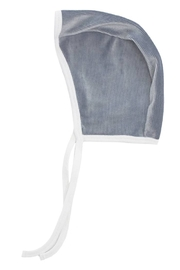 KIPP Baby Rib Velour Contrast Color Block Bonnet - Product Mini Image