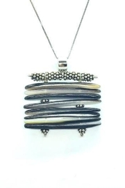 Leah Sturgis Jewelry Art Kira Necklace - Mother of Pearl - Product Mini Image