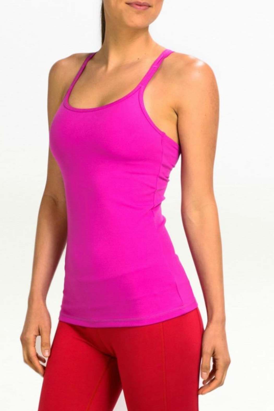 Kira Grace Double Strapped Tank - Front Cropped Image