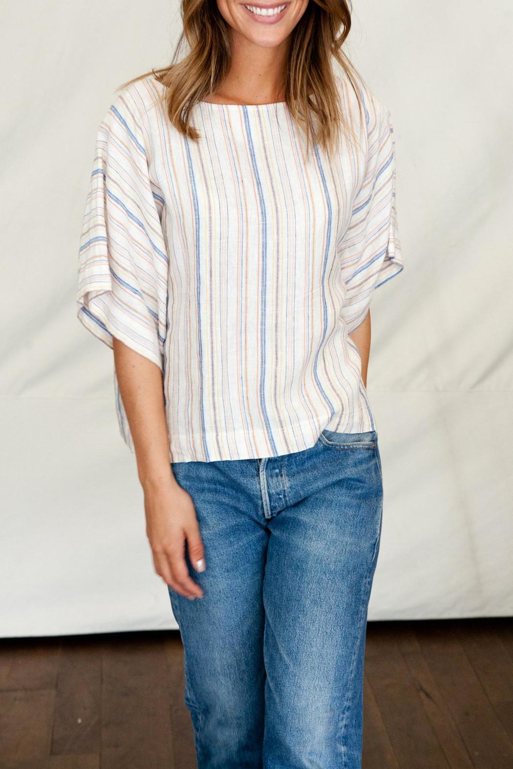Trovata KIRI DOLMAN STRIPES TOP