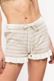 POL Kirpa Striped Shorts - Product Mini Image