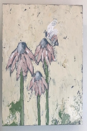 Kirsten Reed Art Bee&Flower Original Art - Front cropped
