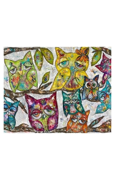Kirsten Reed Art Owl Together Print - Alternate List Image