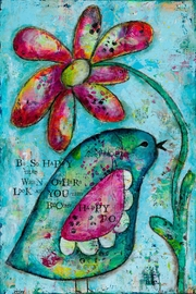 Kirsten Reed Art So Happy Art Print - Product Mini Image