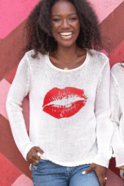 Wooden Ships KISS ROLLNECK COTTON - Front cropped