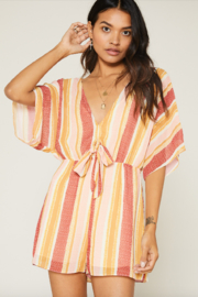 SAGE THE LABEL Kiss The Sun Romper - Front cropped