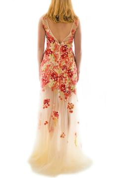 Kiss Keep It Simply Stylish Floral Illusion Gown - Alternate List Image