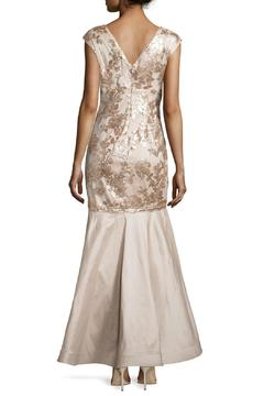 Kiss Keep It Simply Stylish Floral Sequin Gown - Alternate List Image