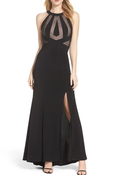 Kiss Keep It Simply Stylish Halter Fitted Gown - Product List Image