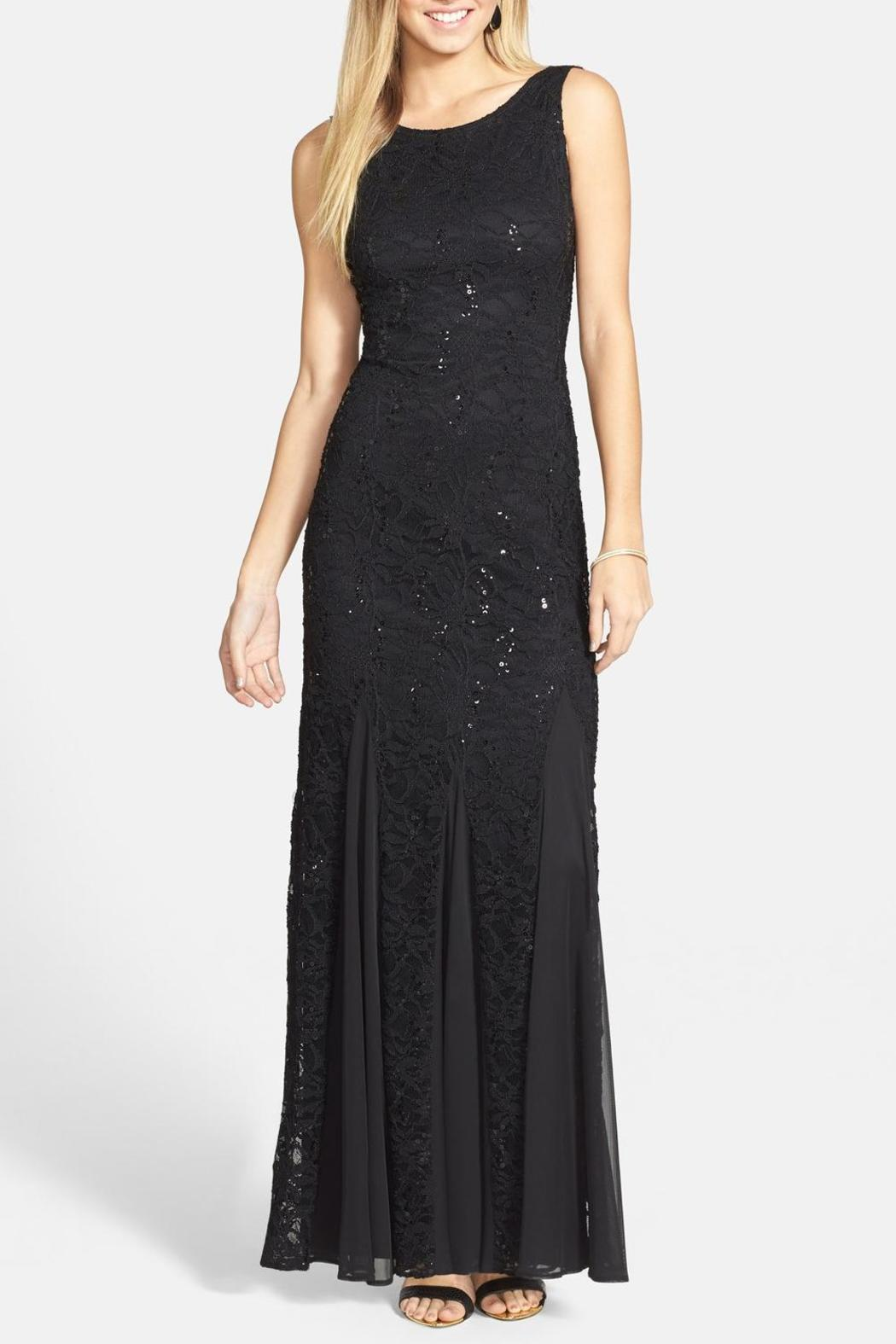 keep it simply stylish lace beaded back dress from