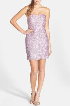Kiss Keep It Simply Stylish Pink Sequin Sheath - Product List Image