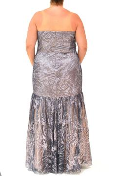 Kiss Keep It Simply Stylish Shimmery Curvy-Girl Gown - Alternate List Image