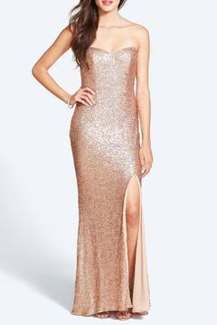 Shoptiques Product: Sparkling Champagne Gown