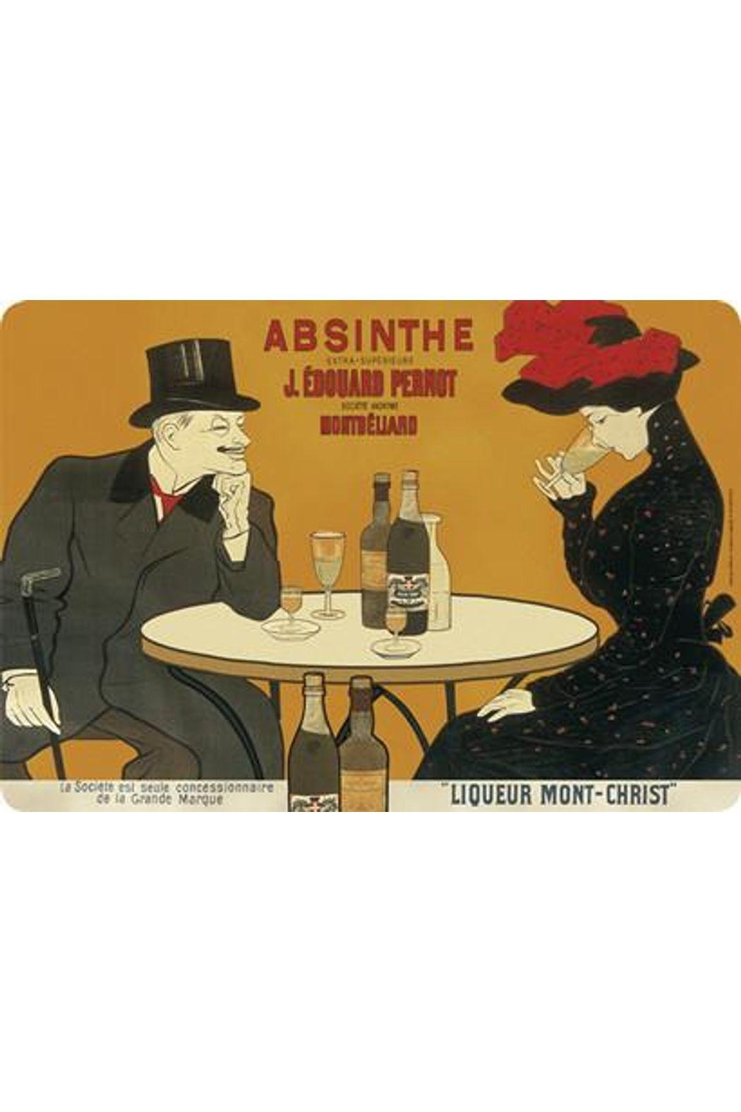 Kiss That Frog Absinthe Pernot Placemat - Main Image