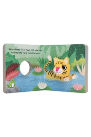 Kiss That Frog Baby Tiger: Puppet Book - Front full body