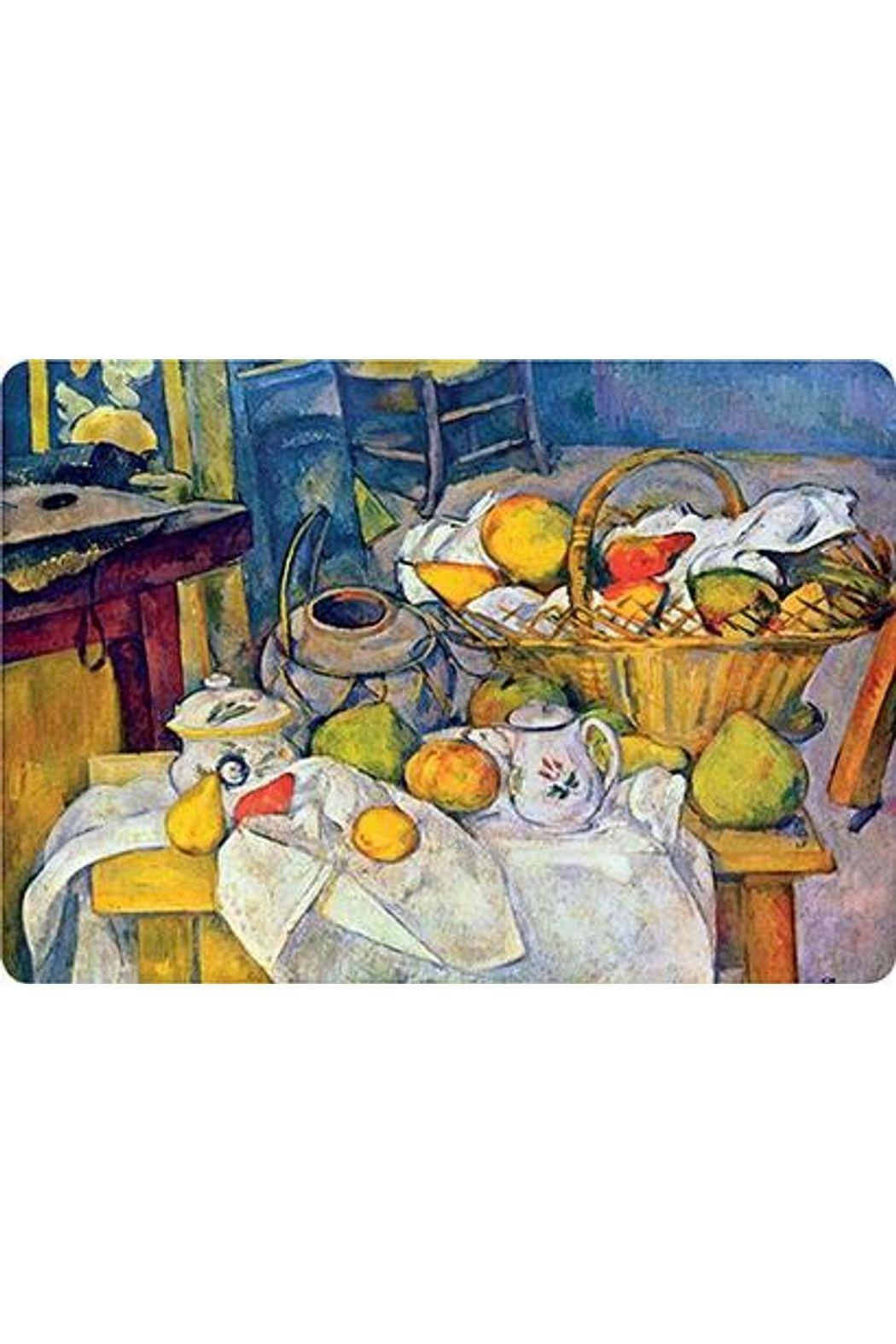 Kiss That Frog Cezanne Still Life With Basket Placemat - Main Image