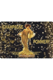 Kiss That Frog Champagne Pommery Placemat - Front cropped