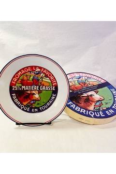 Kiss That Frog French Cheese Plates - Product List Image