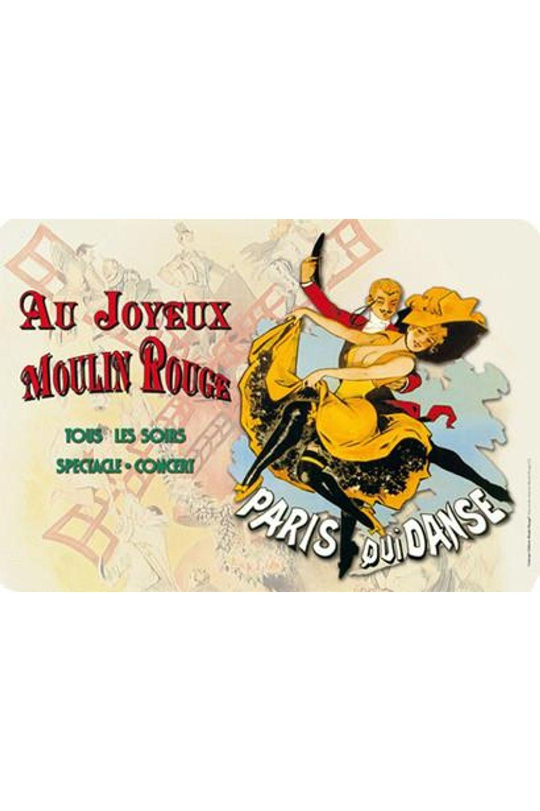 Kiss That Frog Joyeuz Moulin Rouge Placemat - Main Image