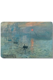 Kiss That Frog Monet Setting Sun Placemat - Front cropped
