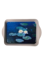 Kiss That Frog Monet Water Lilies Mini Metal Tray - Product Mini Image