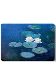 Kiss That Frog Monet Waterlilly Placemat - Front cropped